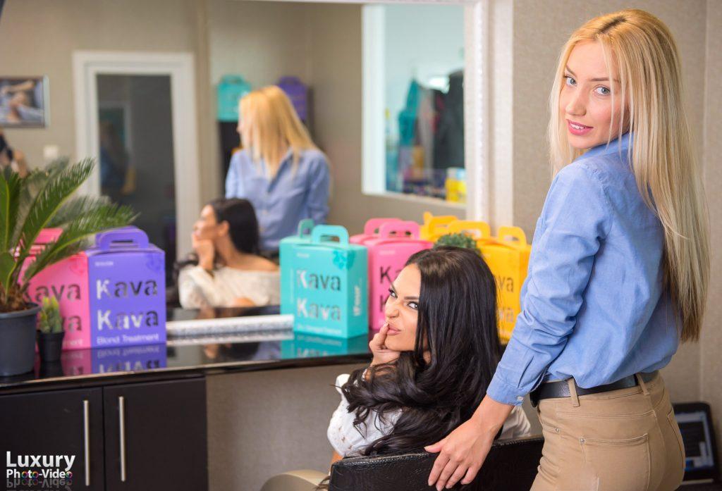 Yofi Hair Academy - Olga si Francisca Andreea Dulceanu - Promovare salon de infrumusetare Bucuresti