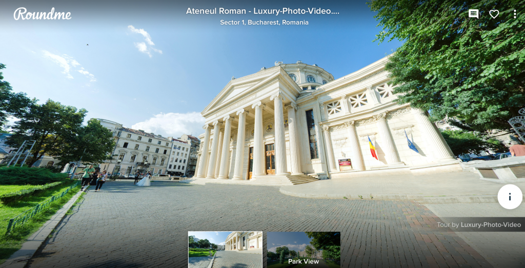 Ateneul Roman - Virtual Tour Sample